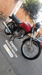 Fan 125 ks 2007 troco em moto mais nova ou carro do meu interesse