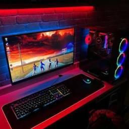 PC de alto desempenho i7 10700+rx 570+16 de ram