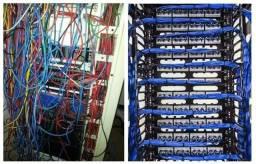 Estagiário de cabeamento e manutenção de computador.