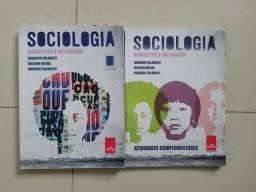 Livro de sociologia - conceitos e interações