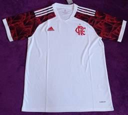 Camisa do Flamengo branca (disponível: M e GG)