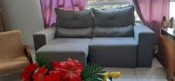 Sofa retratil e reclinavel entrego