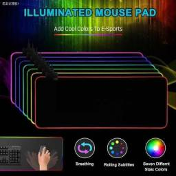 Mousepad Gamer 80x30cm Led Multicolor