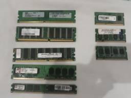 Memorias DDr 333, DDr400, DDr2 e DDr3
