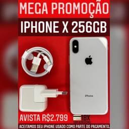 MEGA PROMOÇÃO X 256GB BRANCO