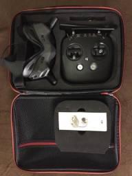 Dji Fpv Óculos Goggles V2 + Air Unit + Controle Novo p/ Drone Racer