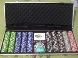 Mesa de Poker + Maleta 500 fichas