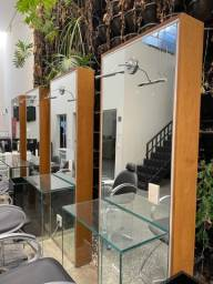Molduras e bancadas de vidro