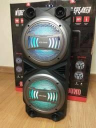 Caixa de SOM SUPER POTENTE KTS 1054 Wireless produto novo com garantia e nota fiscal!
