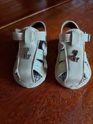 Sandália pimpolho bebê menino tamanho 3