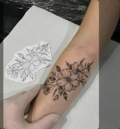 Tatuagem de 150,00