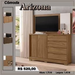 Cômoda Arizona - Frete Gratuito! (Leia a Descrição)
