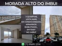 Morada Alto do Imbuí, 2 quartos em 64m² com 1 vagas degaragem no Imbuí
