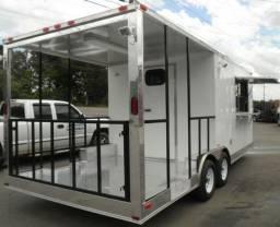 Trailer, food truck, container e quiosque