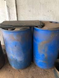 Bombona plástica azul