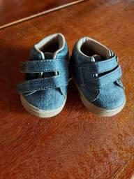 Tênis pimpolho bebê menino tamanho 3