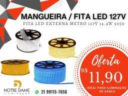Mangueira Flexível / Fita led 5050 127v Br. Frio-Br. Quente-Azul-Âmbar