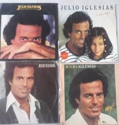 4 Vinil Júlio Iglesias