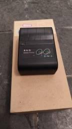 Mini Impressora Térmica Bluetooth Android Portátil