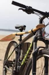 canoa suporte de remo para bike