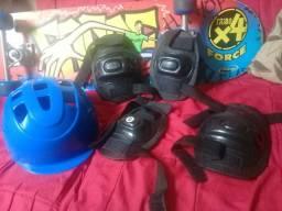 Conjunto Skate Force com Lixa Street Xalingo Brinquedos