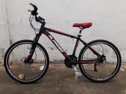 Bicicleta aro 26 Alfameq Zahav freio a disco: Leia o anúncio