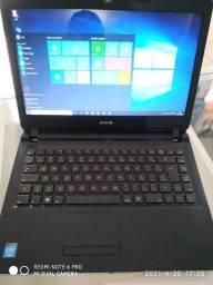 notebook cce win intel dual core, 4gb de Ram, 500gb hd, Leitor de DVD