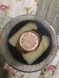 Relógio Atlantis rosê