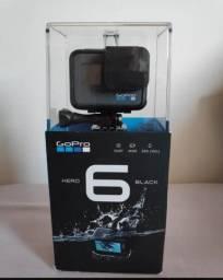 Gopro hero 6 Black mais carregador + bateria extra