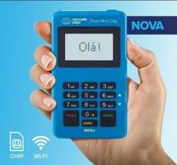 Maquininha de cartão Mercado Pago Point Mini Chip Não usa celular