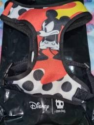 Guia + peitoral do Mickey