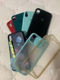 Conjunto capinhas iPhone Xr