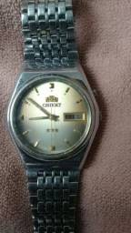 Vendo relógio antigo automático orient