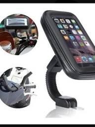 Kit Motoboy com suporte + carregador de celular para motos