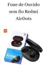 Fone de ouvido AirDots sem fio