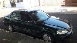 carro Honda Civic EX 1999 completo