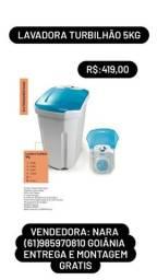 Lavadora 5kg com 2 níveis de água preço único