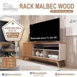 Rack Germai Malbec Wood Off White