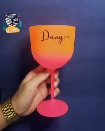 Taça de gin personalizada Gim, copo de gin Campinas Indaiatuba