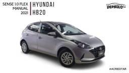 Título do anúncio: HYUNDAI HB20 1.0 SENSE FLEX MANUAL 2021