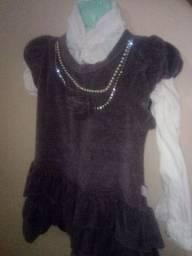 Vestido de festa tam 1 ano