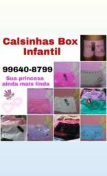Calsinhas Box Infantil