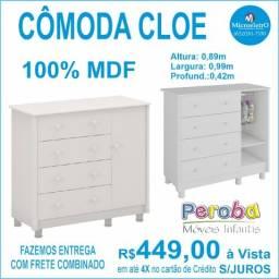 Cômoda Cloe 1 Porta