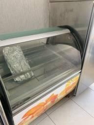 Título do anúncio: Vitrine expositora de gelato isa milenium gelateria italiana