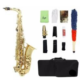 Sax alto dourado Eb