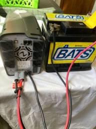 Nobreak Ragtech 700 VA + Bateria 60 Ampère