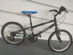 Bicicleta infantil Caloi 7 marchas