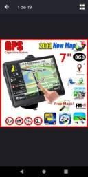 """Título do anúncio: GPS tela de 7"""" touchscreen NOVO"""