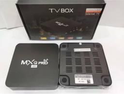 Tv box mxq pro com mensalidade - *parte do frete incluso