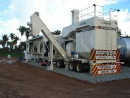 Usina de asfalto Terex magnum 80 ano 2007